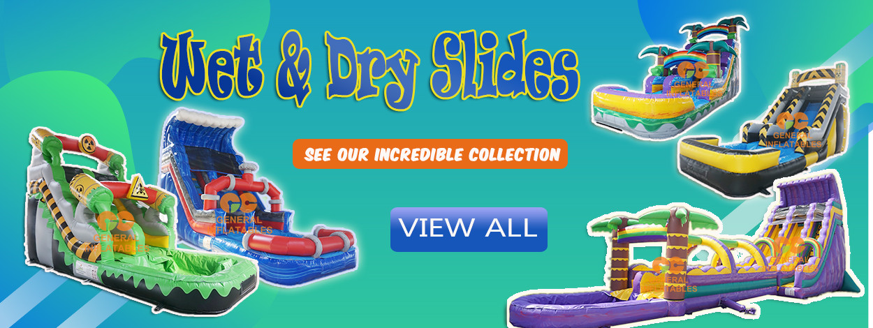 inflatable water slide sale