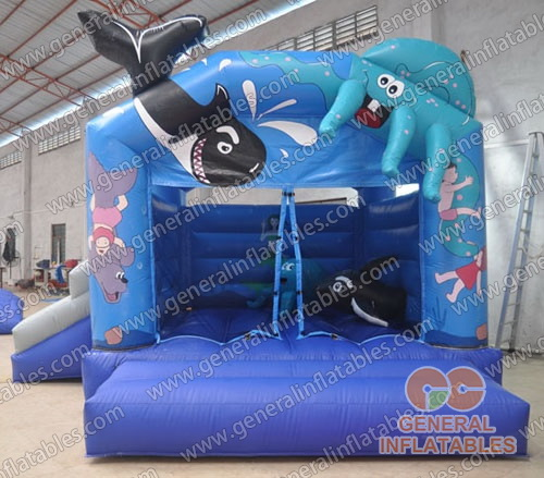 Seaworld combos inflatable for sale