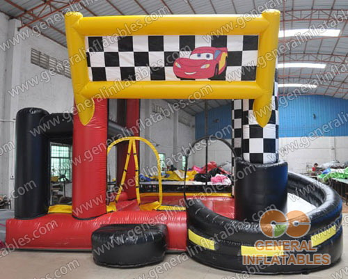 GB-229 Racecar combo inflatables