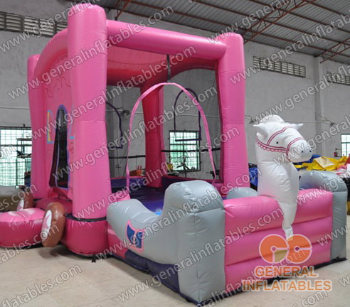 Inflatable Princess Carriages