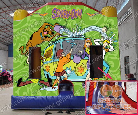 GB-269 Scooby doo bounce combo with slide