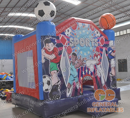 GB-277 Sport bounce house