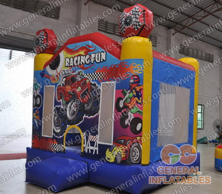 GB-280 Racing fun bounce house