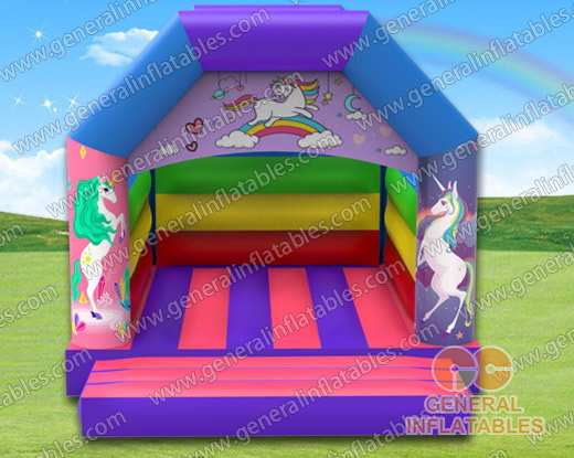 GB-394 Unicorn bounce house