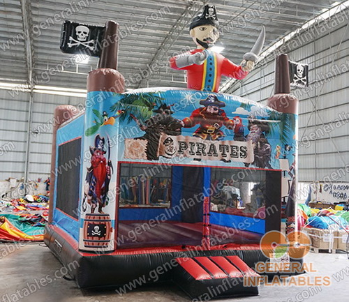 GB-431 Pirate bounce house