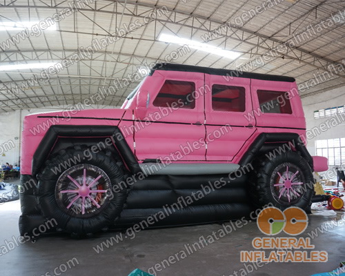 GB-450 Pink SUV bounce combo