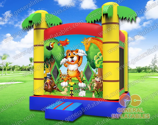 GB-99 Safari bounce house
