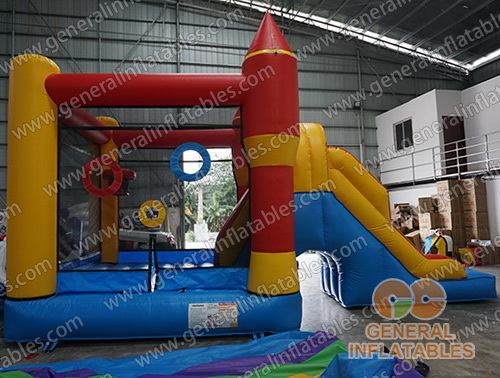 GC-166 Bounce house with slide
