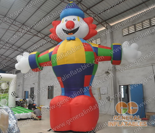 GCar-60 Inflatable Clown