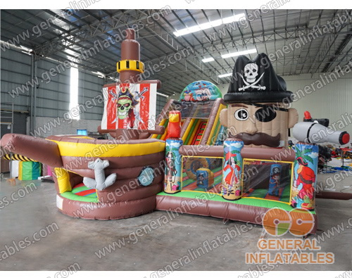 GF-131 Pirate playground with moving mouth