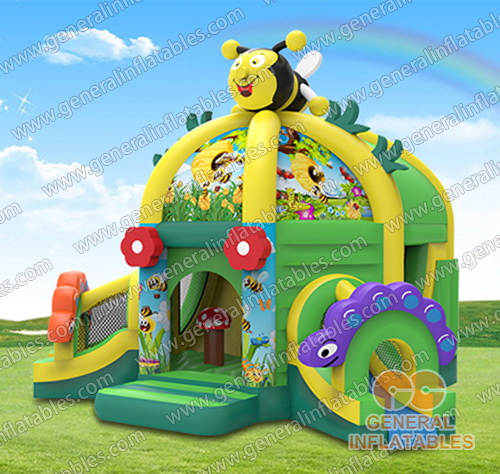 GF-148 Honey bee funland with 2 slides
