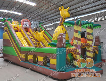 GF-62 Inflatable Jungle funland
