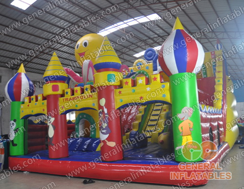 GF-67 Inflatable funland