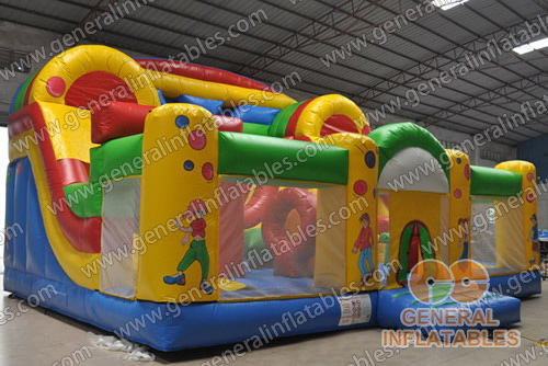 GF-74 Inflatable funland
