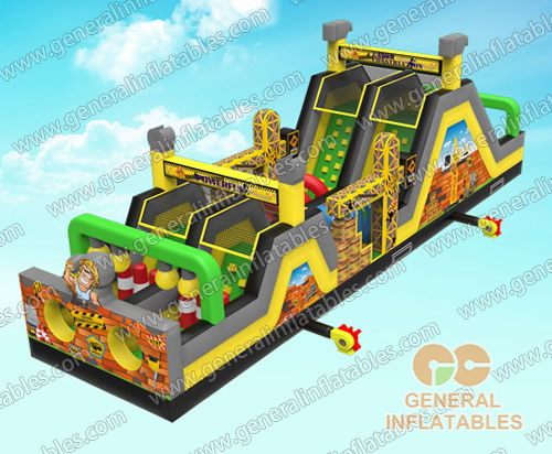 GO-140 Engineer obstacle course