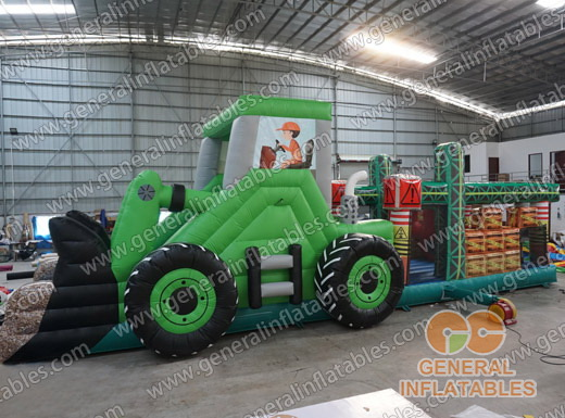 GO-146A Tractor obstacle course