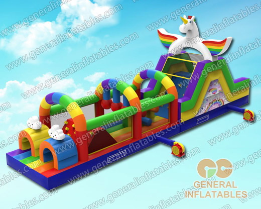 GO-157 Unicorn obstacle course