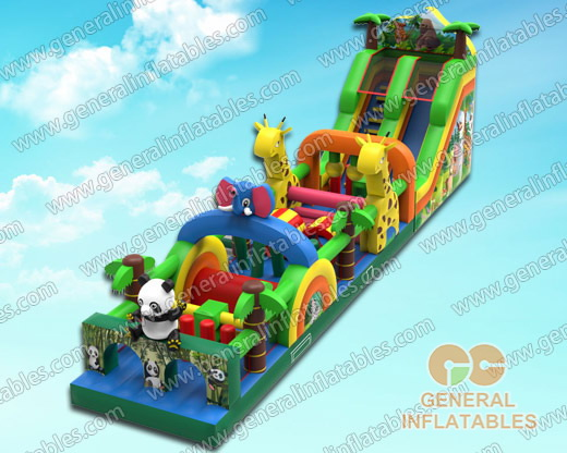 GO-158 Jungle obstacle course
