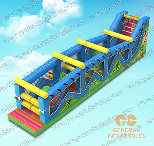 GO-162 Meltdown obstacle course