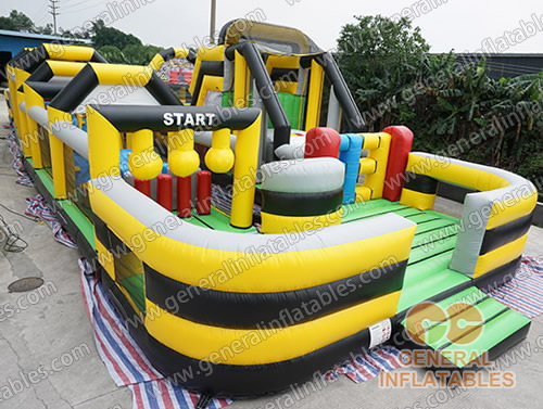 GO-167 Giant obstacle course