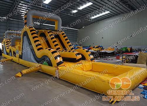 GO-171 Toxic obstacle course with pool