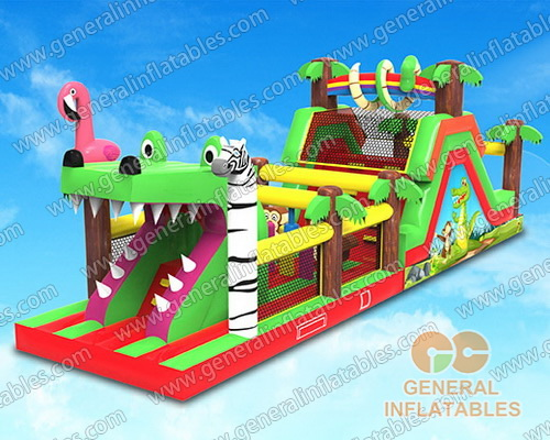 GO-177 Jungle obstacle course