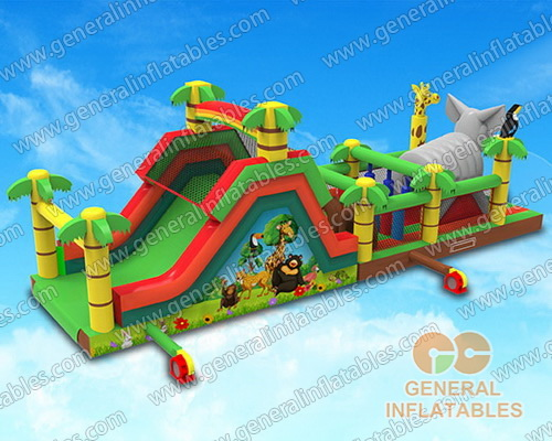 GO-178 Jungle obstacle course