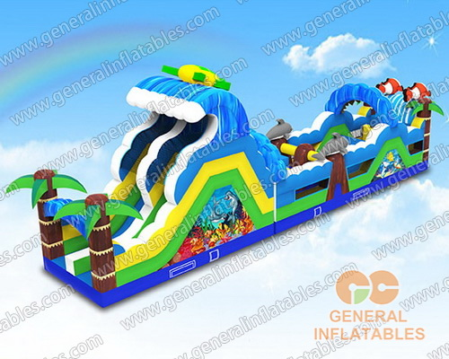 GO-182 Ocean obstacle course