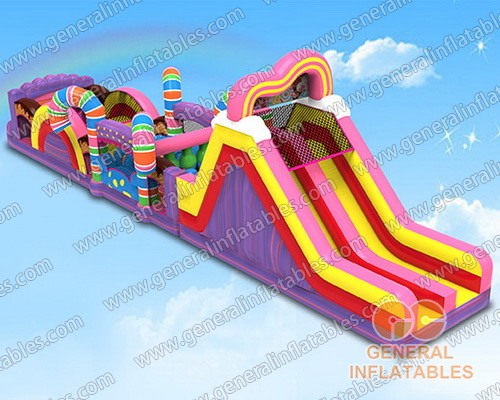 GO-184 Candy obstacle course