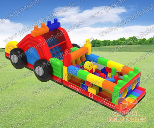 GO-190 Building blocks obstacle course