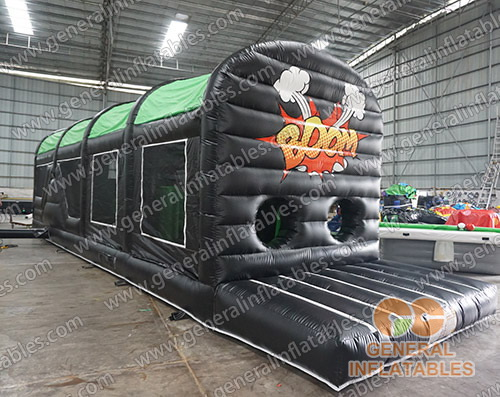 GO-191 Boom obstacle course