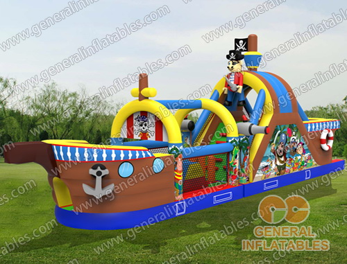 GO-29 Pirate ship obtacle