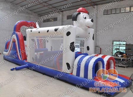 GO-93 Dalmatian obstacle course