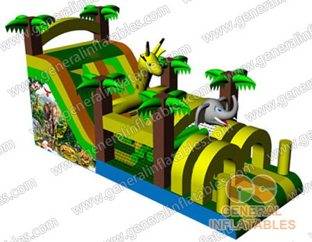 GO-96 Inflatable Jungle obstacle