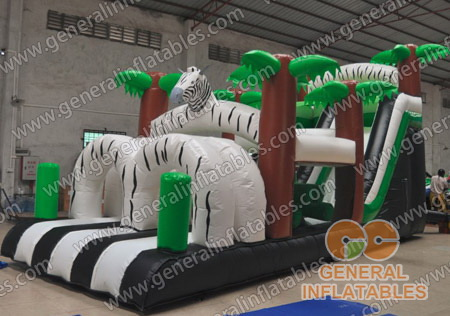 GO-97 Zebra in Jungle obstacle