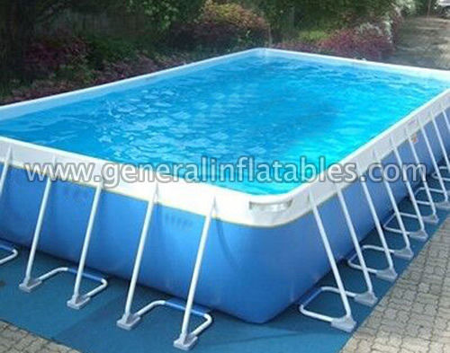 Inflatable pools gp 13 steel frame pool general inflatables - Steel frame pool ...