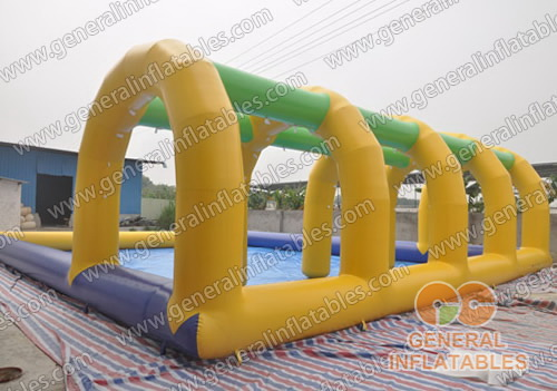 GP-18 Pool with tunnel