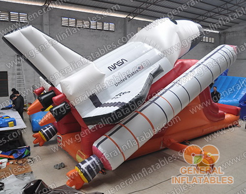 GS-264 Space shuttle inflatable slide