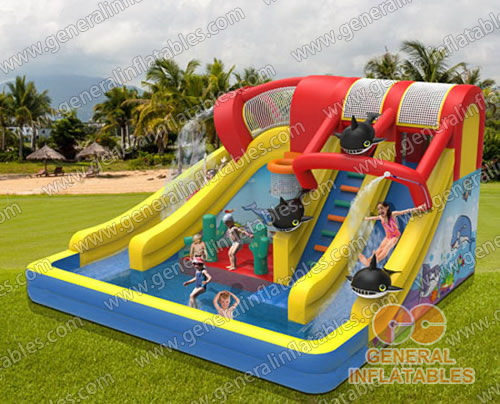 inflatable water slide gws 119 cool your summer water slide