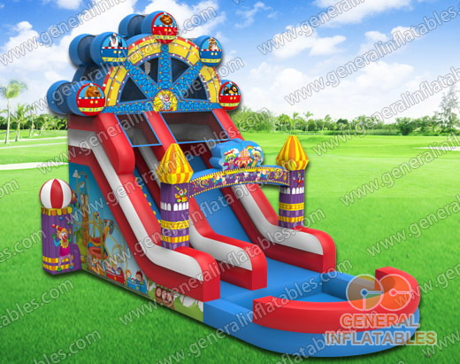 GWS-201 Circus water slide