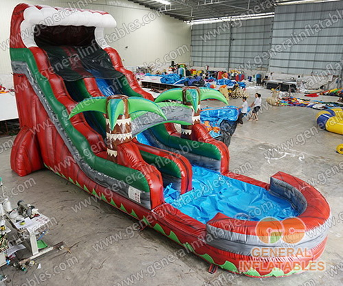 GWS-233 Inflatable water slide
