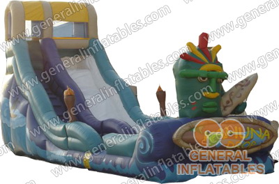 GWS-47 Inflatable Tribe Water Slide