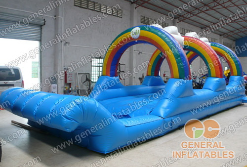 GWS-64 rainbow inflatable water game