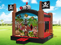 GB-10 Pirate bounce house