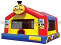 Inflatable Train Jumping House