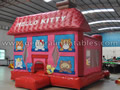 GB-283 Hello Kitty bounce house