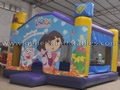 GB-296 Dora bounce house