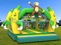 GB-319 Monkey jumping castle