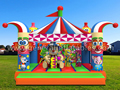 GB-326 Circus bounce house