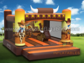 GB-380 Cowboy bounce house